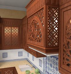 مطبخ - تصاميم إسلامية
