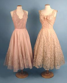 Ceil Chapman Summer Party Dress, c. 1955