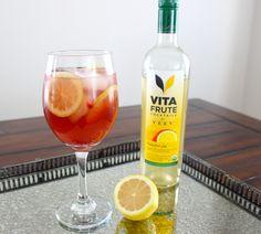 Holiday Cocktail Recipe: VitaFrute Sparkling Cranberry Lemonade