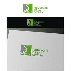 Create a new visual identity for FDLC - Fiduciaire De La Cité SA Réalisé par… Visual Identity, Logos, Tech Companies, Company Logo, Create, Design, Logo Creation, Corporate Design, A Logo