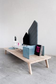 Eye-Catching Interactive Table For Storage | DigsDigs