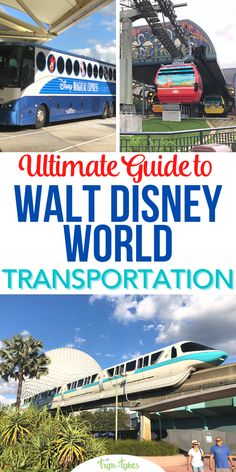 Planning a Walt Disney World vacation? Find out how to get around in this complete transportation and transit guide covering monorails, the new Disney Skyliners, shuttles, ferries, rental cars, ridesharing, and more. Plus, tips for transportation modifications specific to 2020-2021's limited capacity reopening. Disney Vacation Planning, Walt Disney World Vacations, Disney Parks, Disney World Tips And Tricks, Disney Tips, Disney World Transportation, Car Rental, Magic Kingdom, Family Travel