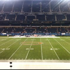 Soldier Field 50 yard line