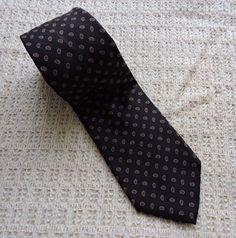 Robert Talbott Men Black Red Silk Tie #RobertTalbott #Tie
