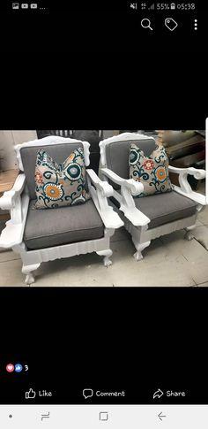 Thrift Store Furniture, Furniture Making, Home Furniture, Furniture Design, Painted Outdoor Furniture, Repurposed Furniture, Sofa Makeover, Furniture Makeover, Barn Door Decor