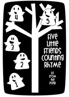 Five Little Friends Counting Rhyme