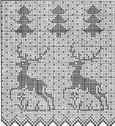 Could be used for needlework, Filet Crochet or Fair Isle Filet Crochet, Crochet Cross, Crochet Motif, Cross Stitch Charts, Cross Stitch Designs, Cross Stitch Patterns, Knitting Charts, Knitting Stitches, Cross Stitching