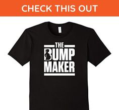 Mens The Bump Maker Maternity Pregnancy Dad Funny Humor T-Shirt Large Black - Relatives and family shirts (*Amazon Partner-Link)