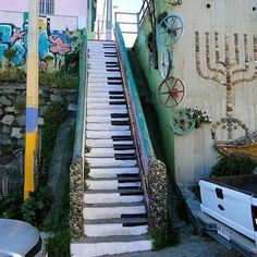 Staircase in Chile