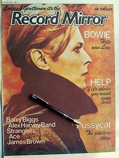 DAVID BOWIE 1976 - 1977 CLIPPINGS LOT Heroes Low Station To magazine cuttings