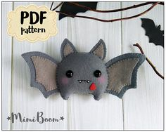 This is a digital tutorial on how to make the Halloween Bat Included step by step instructions, pictures and full size pattern pieces. (no need to enlarge or resize). Its completely hand sew and you dont need a sewing machine. THIS IS NOT A FINISHED TOY. THIS IS A PDF PATTERN DOWNLOAD.All needed materials you must to purchase yourself. Approx. size of toy is: about 5 inch length. PDF tutorial includes: - Step by step pictures - English step by step instructions. - Materials list - Basic s...
