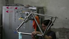 When most people think of Chinese bike manufacturing they think of mass production. China is also home to small scale factories that take pride in the craft ...