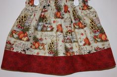 Fall Time Skirt  Size 2 to 8 by bubblenbee on Etsy