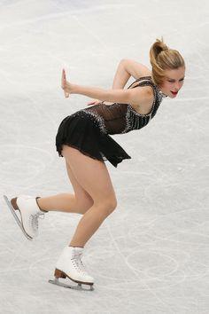 Ashley Wagner of USA competes in the Ladies Short Program during ISU World Figure Skating Championships at Saitama Super Arena on March 27, 2014 in Saitama, Japan.