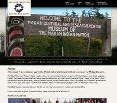 Makah Nation Museum. Neah Bay, Washington
