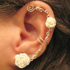 Inspired earrings in nature