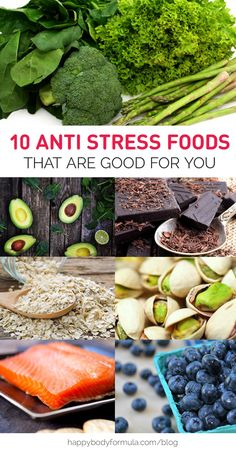 10 Anti Stress Foods That Are Good For You