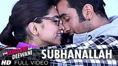 """""""Subhanallah"""" is a breezy track from Yeh Jawaani Hai Deewani with oodles of tender mushiness that is easy on listening, The song is in the voice of Shilpa Ra. Bollywood Music Videos, Bollywood Movie Songs, Rap Song Lyrics, Rap Songs, Ranbir Kapoor Deepika Padukone, Shraddha Kapoor, Priyanka Chopra, Girlfriend Song, Nepali Song"""