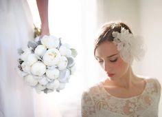 White/grey Bouquet