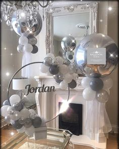 10 Perfect Themes for a Baby Shower – Voyage Afield Bridal Shower Balloons, Wedding Balloons, Birthday Balloons, Baby Shower Parties, Baby Shower Themes, Baby Shower Decorations, Boy Baptism Decorations, Baby Shower Balloon Ideas, Balloon Centerpieces