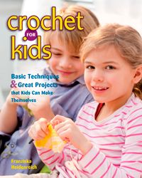 Crochet for Kids is formatted like a high quality beginner crochet book but with details that make it just right for children learning to crochet. - via @UCrafter