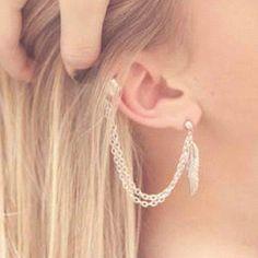 Loving ear cuffs.