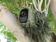Arlo Outdoor Mount Options: Flexible Camouflage Skins and Mounts – Home security system Arlo Outdoor Mount Options: Flexible Camouflage Skins and Mounts Hide security cameras in your front yard using these expert ideas and tips. Safety And Security, Home Security Tips, Wireless Home Security Systems, Security Alarm, Security Cameras For Home, House Security, Security Products, Security Service, Hidden Security Cameras