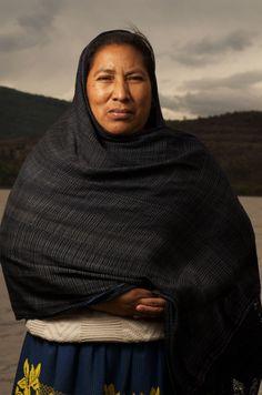 María Guadalupe, Mujer Purépecha Fotógrafo: Diego Huerta #michoacan