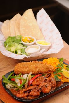 Don Pepito Fajitas - Seafood - Bigby's Café and Restaurant Cagayan de Oro