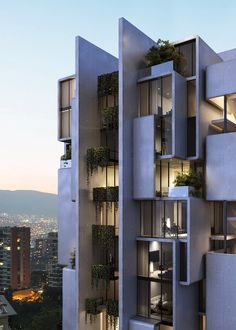 Gallery of A Vertical Neighborhood in Tehran and a Zero Emission House on the Beach: 9 Unbuilt Projects Submitted by our Readers - 2 Condominium Architecture, Facade Architecture, Residential Architecture, Chinese Architecture, Futuristic Architecture, Contemporary Architecture, Landscape Architecture, Landscape Design, Residential Building Design