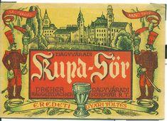 A kor, melyben még a magyar sörcímkék is művészi igényességgel készültek Korn, Vintage Posters, Beer, Photoshop, Painting, Poster Vintage, Root Beer, Ale, Painting Art