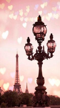 Paris in blush pink