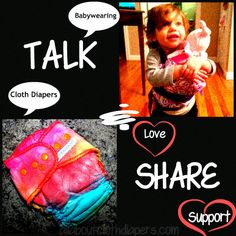 Help me spread the love of cloth diapers and babywearing | All About Cloth Diapers