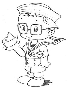 Fun Coloring Pages: seaman - free coloring pages