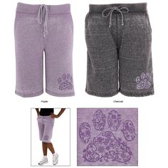Purple+Paw+Burn+Out+Board+Shorts+at+The+Animal+Rescue+Site