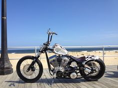 White Devil is her name.. Indian Larry Motorcycles 2012