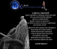 Entidades Ciganas da Umbanda (Clique Aqui) para entrar.: ORAÇÃO PARA ORIXÁ OMULU ( ORIXÁ XAPANÃ)
