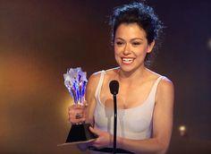 Tatiana Maslany won Best Actress at the 2014 Critics Choice Television Awards!
