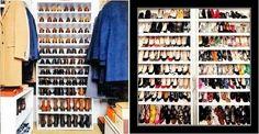 ten a la vista todos tus zapatos con esta gran estantería