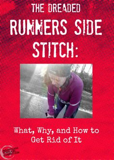Runners Side Stitch - how to get rid of it