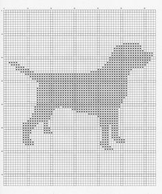 Labrador Dog Chart - Maybe on a cushion? Oh, John would just LOVE this.) - Tap the pin for the most adorable pawtastic fur baby apparel! You'll love the dog clothes and cat clothes! Labrador Silhouette, Dog Silhouette, Knitting Squares, Knitting Charts, Black Labrador Dog, Labrador Puppies, Retriever Puppies, Corgi Puppies, Crochet Chart
