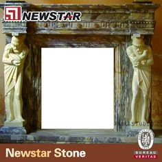 Including marble fireplace,granitefireplace,sandstone fireplace,etc.Our hand carved stone fireplaces include simple design fireplaces,statue design fireplace mantles,flower design fireplace mantles and large outdoor fireplace.From European design with carved or without carved fireplace for up scale house.All of them can be produced accroding to your request or dimension and syone material.If any like,please contact:kob@newstarchina.com
