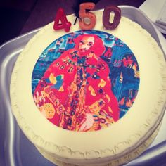 @Jennifer Happy birthday! #Shakespeare450th #shakespearesbirthday #cakespeare