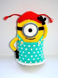 Crochet Minion ... by Babycrochetcraftsy | Crocheting Pattern - Looking for your next project? You're going to love Crochet Minion amigurumi Despicable Me 2 by designer Babycrochetcraftsy. - via @Craftsy