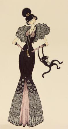 Kersey Barrett-Tormey: The Lady's Date is a Monkey