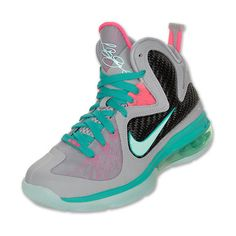 Nike LeBron 9 Kids' Basketball Shoes ($21) ❤ liked on Polyvore