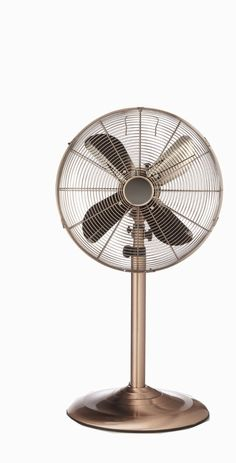 Good $100.00 Amazon.com: Deco Breeze Brushed Stainless Steel Floor Standing Fan  With Copper Finish