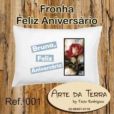 Arte da Terra by Tânia Rodrigues: FRONHAS FELIZ ANIVERSÁRIO - R$ 24,00