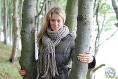 Noelle - jetzt auch als Lang-Schal von Prächtiges auf DaWanda.com