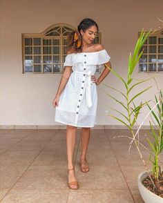 Juliana Louise Juliana Louise, Musa, Cold Shoulder Dress, Summer Dresses, Instagram, Hair, Fashion, Outfits, Style